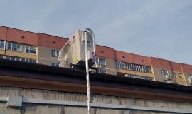 Накрышная установка наружного блока